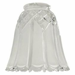 Craftmade 2.25 in. 195 G Scalloped Bell Shaped Glass Fan Sha