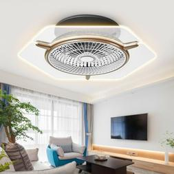 Ceiling Fan LED Transparent Light 3 Color Change Lamp Dimmab