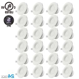 24Pack 4 Inch LED Recessed Ceiling Lamp Down Light Fixture 7
