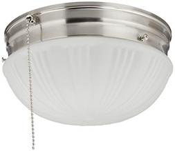 6721000 Two-Light Flush-Mount Interior Ceiling Fixture with