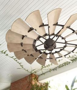 "Quorum 72"" OUTDOOR WINDMILL Ceiling Fan; 197215-86 & 19721"