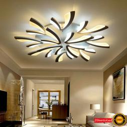 Acrylic Modern Led Ceiling Lights For Living Room Bedroom Di