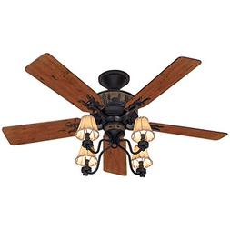 "Hunter Adirondack 52"" Ceiling Fan - Model 59006"