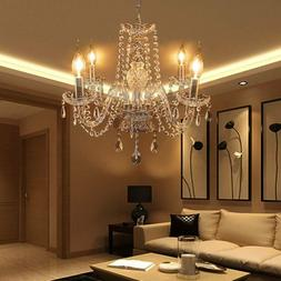 Elegant Crystal Chandelier Modern Ceiling Light Pendant Ligh