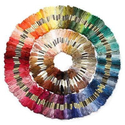 100 DMC Cross Stitch Cotton Embroidery Floss Sewing Skein