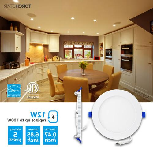 12W LED Recessed Ceiling 3000K