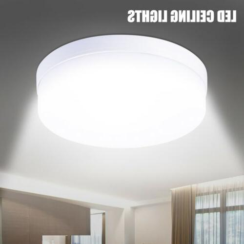 2PACK LED Light Mount Kitchen Round Home Fixture