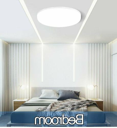 36W Round LED Ceiling Light Panel Wall Bathroom Kitchen Lamp