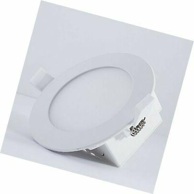 Bulbrite 4 Canless Round Recessed LED Light 50 Watt E...