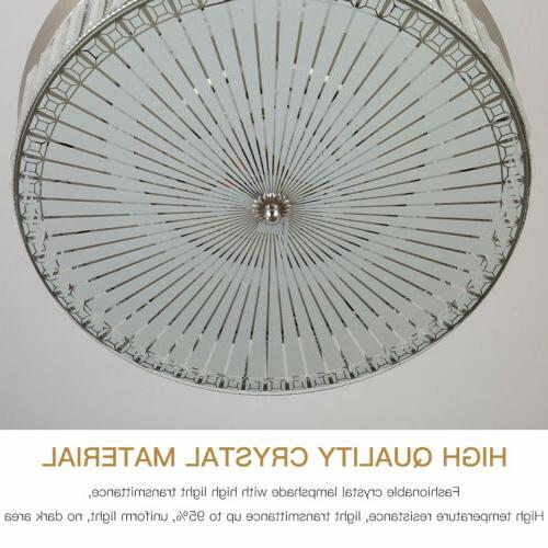 """42"""" silver Invisible Ceiling Fan Control Chandelier"""