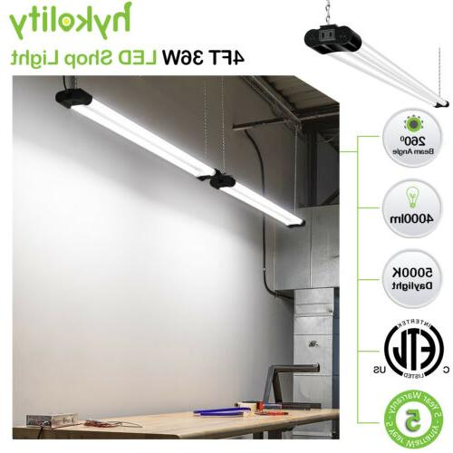 LED Shop Workbench Ceiling