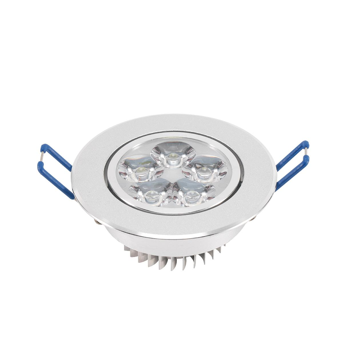 6/10/20Pcs LED 3W 5W Recessed Spotlight With Driver
