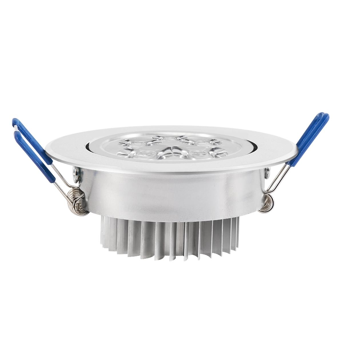 6/10/20Pcs LED Downlight 3W 5W Recessed Ceiling Spotlight With Driver