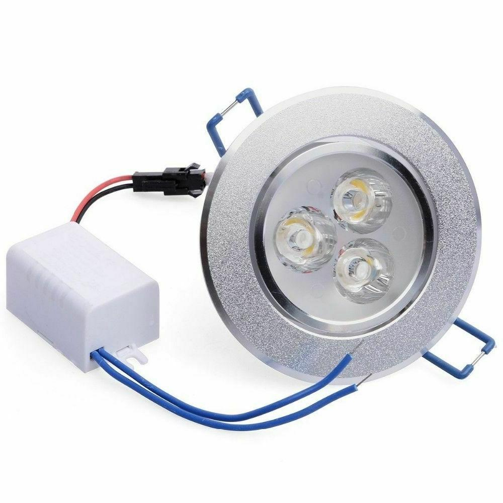 6/10/20Pcs LED 5W Recessed Spotlight 110V With Driver