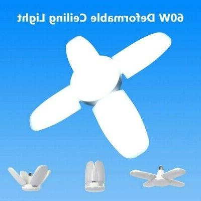 60W E27 Ceiling Deformable Lamp