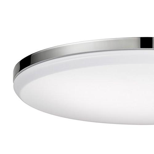 Globe LED Integrated Flush Ceiling Frosted Shade, Certified, Ultra
