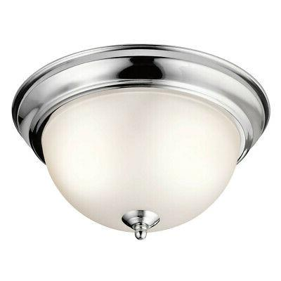 8111ch flush mount round glass