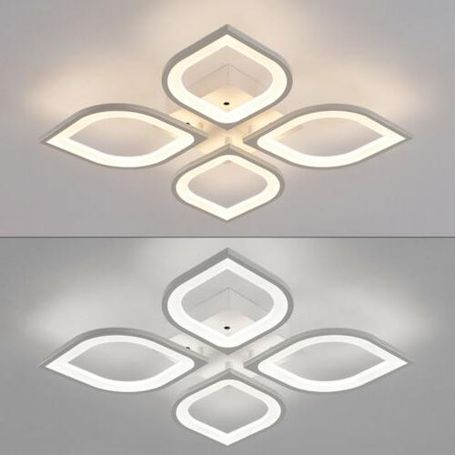 Acrylic LED Lamp Modern Chandelier Voltage