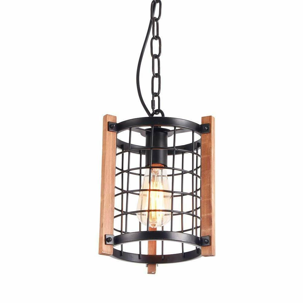 Cage Rustic Chandelier Hanging Lamp