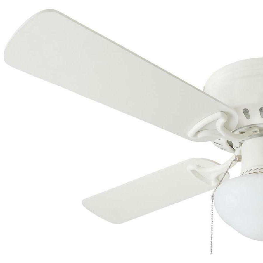 Harbor Breeze WHITE Mount Indoor Ceiling with Kit