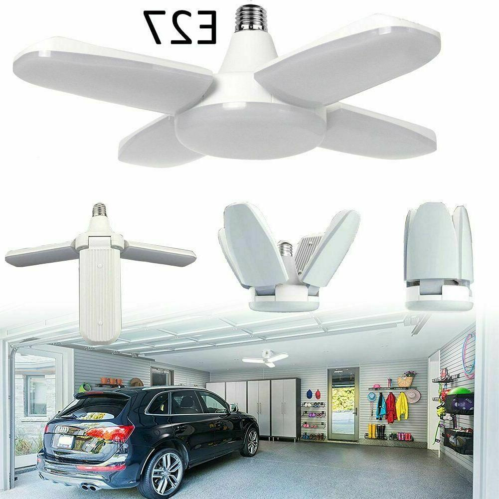 e27 garage led light deformable bulb ceiling