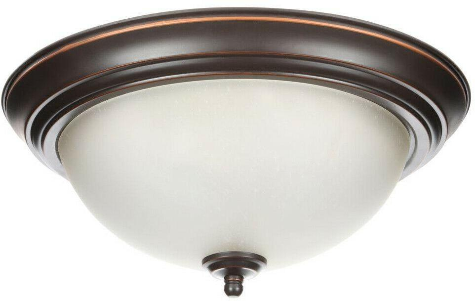 Flush 2-Pack Rubbed Fixture Shades