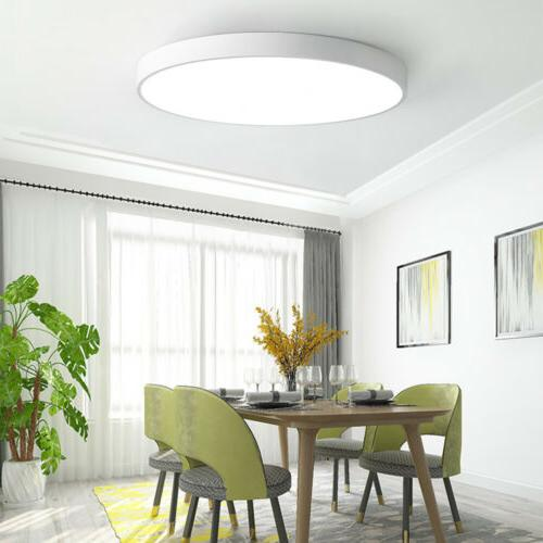 LED Dimmable Thin Mount Kitchen Lamp Fixture