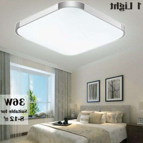 LED Ceiling Light Thin Mount Kitchen Home Fixtures US