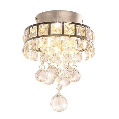 modern crystal ceiling light pendant