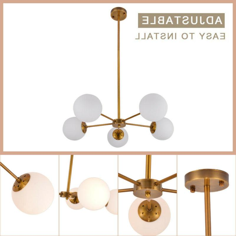 Modern 5 Ceiling Fixture Decoration