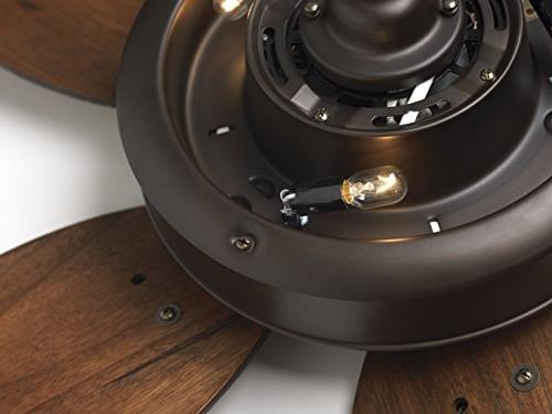 Emerson Premium Select 52 Ceiling in Oil with Walnut Solid Wood Blades.