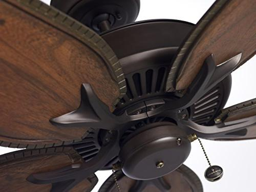 Emerson Select Ceiling Model in Oil with Wood Blades.