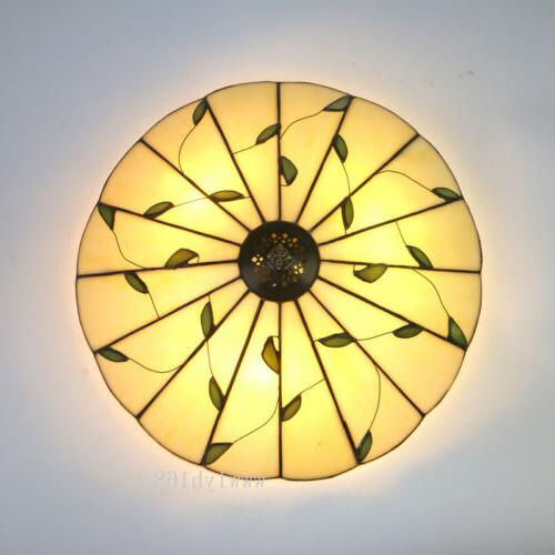Tiffany Vintage Stained Ceiling Lighting