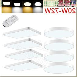LED Ceiling Light Dimmable Thin Flush Mount Kitchen Panel Ro
