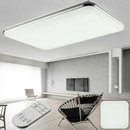 LED Ceiling Light Square Flush Mount Fixture Dimmable Ultra