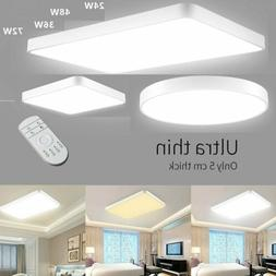US LED Dimmable Ceiling Light Ultra Thin Flush Mount Kitchen
