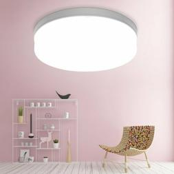 LED Dimmable Ceiling Light Ultra Thin Flush Mount Kitchen Ro