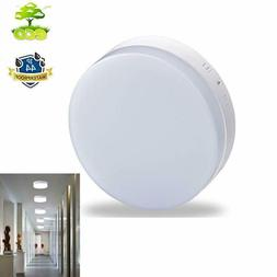 LED Flush Mount Dimmable Ceiling Light Remote Round Bedroom