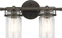 Kichler Lighting 45688OZ Two Light Bath from The Brinley Col