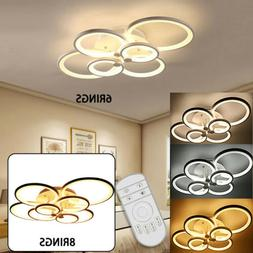 Modern Chandelier Lamp LED Acrylic Ceiling Light with 6 /8 H