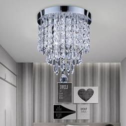 Modern Crystal 3 Light Ceiling Light Chandelier Lamp Pendant