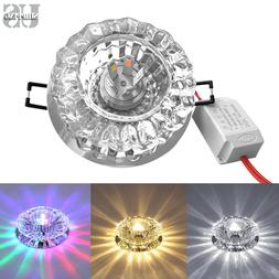 Modern Crystal 3W 5W LED Ceiling Light Fixture Pendant Lamp