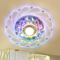 Modern Crystal LED Ceiling Light Fixture Aisle Hallway Penda