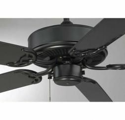 Savoy House Nomad Ceiling Fan in Flat Black