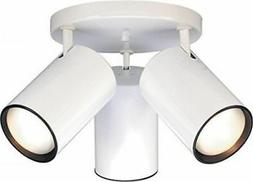 Nuvo 76-422 - Close-To-Ceiling Semi Flush R30 Straight Cylin