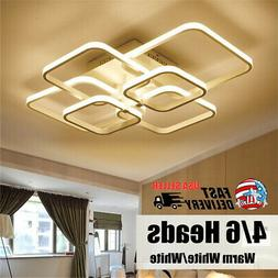 Rectangle Acrylic Aluminum Modern Led ceiling lights for liv
