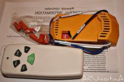 Universal Ceiling Fan Remote Control kit for Halogen and reg